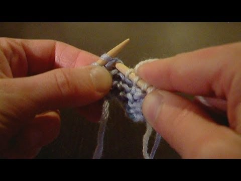 tuto tricot maille double