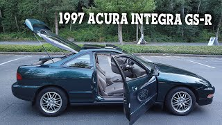Acura Integra GS-R Review!  I Bought a ONE owner 1997 GS-R