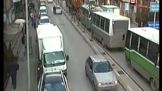 İzmit Trafik Kazaları MOBESE Kayıtları (2013)