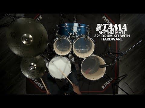 "Tama Rhythm Mate 22"" Drum Kit With Dexter Hercules | Gear4music Demo"