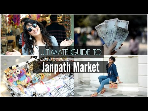 ULTIMATE GUIDE TO JANPATH MARKET+ HAUL | Street Shopping In