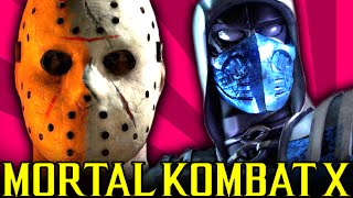 JASON vs BLUE STEEL SUB-ZERO - Mortal Kombat X