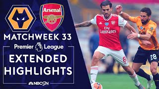 Wolves V. Arsenal | Premier League Highlights | 7/4/2020 | Nbc Sports
