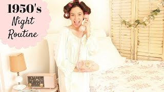 My Night Routine | 1950's Edition SweetEmelyne's