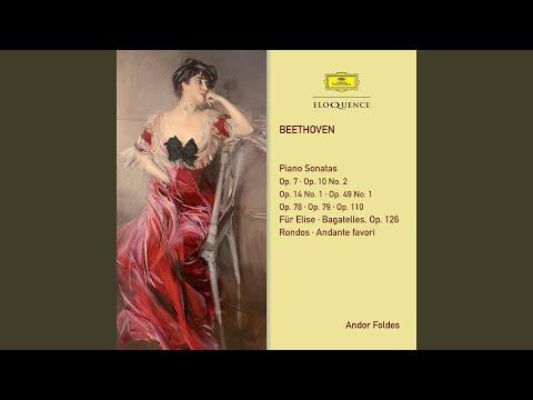 Beethoven: Piano Sonata No.4 In E Flat, Op.7 - 3. Allegro