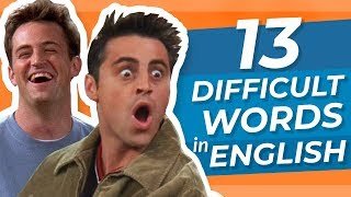 Do You Know These 13 Difficult English Words?