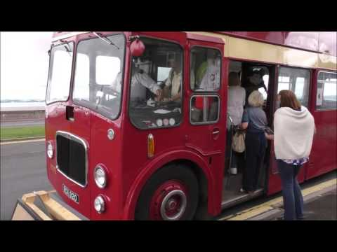 CLASSIC BUSES IN MORECAMBE 4 SEPTEMBER 2016