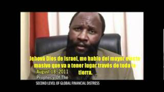2da Crisis global PROFETA DAVID OWUOR: traducido al español