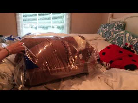 Vacuum-sealing a Giant Teddy Bear