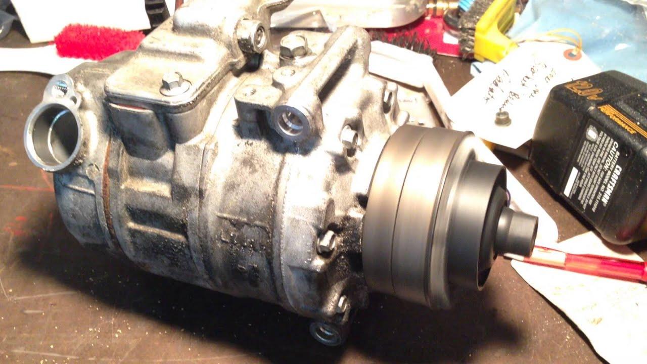 2005 Audi B6 S4 Failed Ac Compressor Youtube