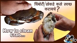 How To Clean A CRAB  - Quick and Easy Way By Chef Durgesh