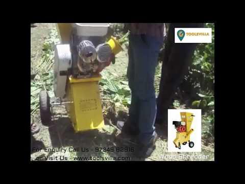 Heavy Duty Wood Shredder - DIY India