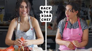 Download Alessia Cara Tries to Keep Up with a Professional Chef | Back-to-Back Chef | Bon Appétit Mp3 and Videos