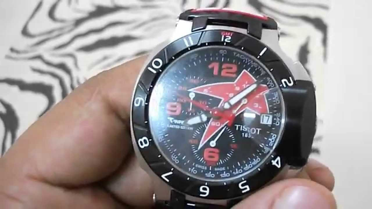 ffd347f47ff Unboxing tissot nicky hayden 69 limited edition 2012 watch - YouTube