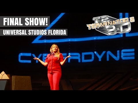 A Final Goodbye to Terminator 2: 3-D at Universal Studios Florida! (Universal Orlando Resort)