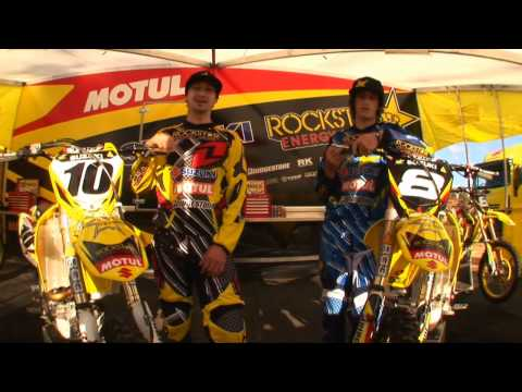 Team Rockstar Motul Suzuki and ONE Industries
