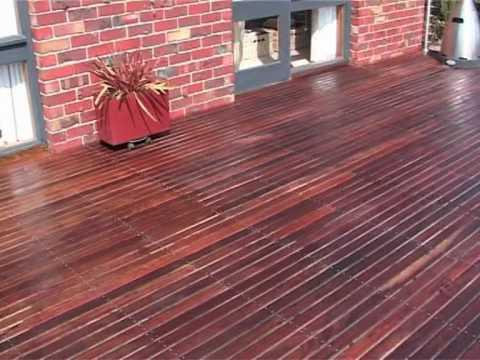 Applying Deck Doc Timber Oil Youtube