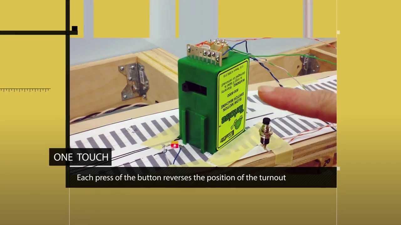 tortoise motion switch machine wiring