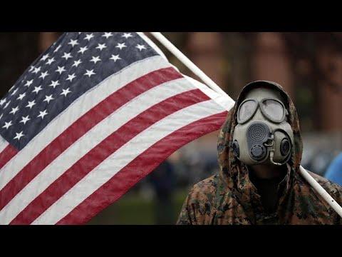 شاهد: محتجون في ولاية ميشيغان الأمريكية يتحدون أوامر الحجر الصحي …  - 20:58-2020 / 5 / 15