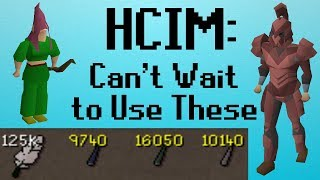 [OSRS] HCIM 137: Can't Wait to Use These (1977/2277)