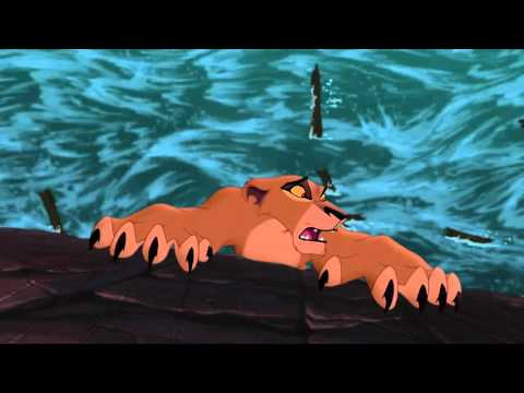 FULL DELETED SCENE from The Lion King 2 Zira's suicide/Zira's death