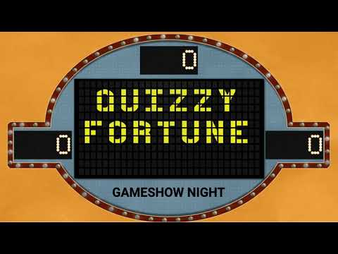 Game Show Night - Quizzy Fortune