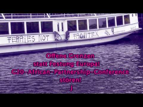 Mobi-Video: Ferries not Frontex, gegen die Welt der G20!