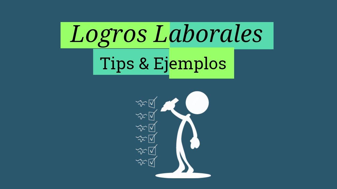 Como Identificar Tus Logros Laborales? Tips & Ejemplos - YouTube