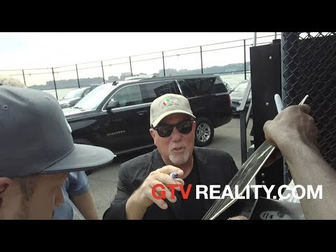 Billy Joel lands a helicopter on GTV Reality