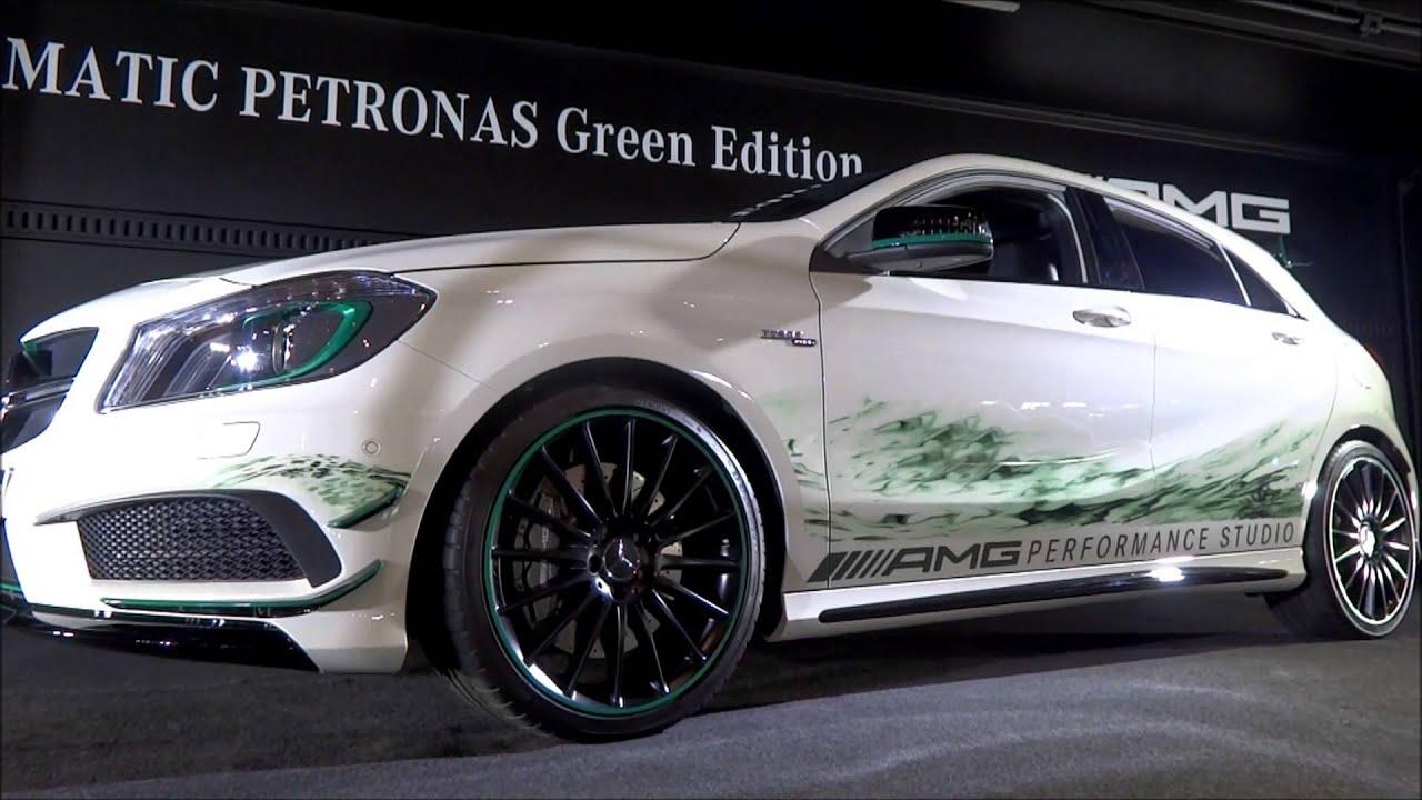 Mercedes benz a45 amg 4matic petronas green edition tokyo for Mercedes benz petronas