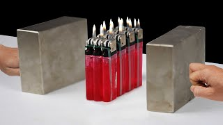 Super Magnets meets Lighters [ TRY NOT TO GET SATISFIED ! 😍 ]