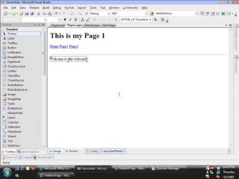 MSDN WEBCAST BEGINNING WEB SITE DEVELOPMENT PART 1 OF 2 LEVE