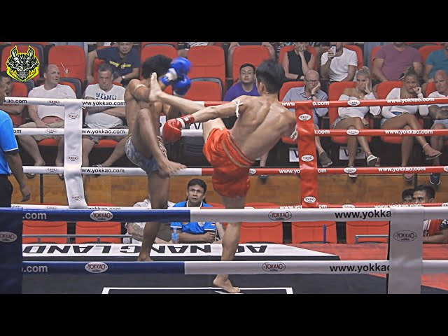 Mark Emerald Muay Thai gym vs Mongkolchai S.Worapot