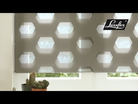 Twist® Shades in Designer Shapes Hymne from Luxaflex®