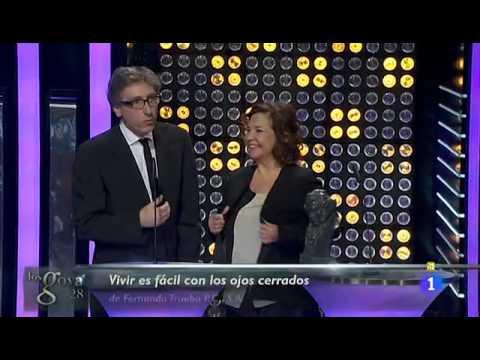 """""""Vivir es fácil con los ojos cerrados"""", gran triunfadora de los Goya 2014"""
