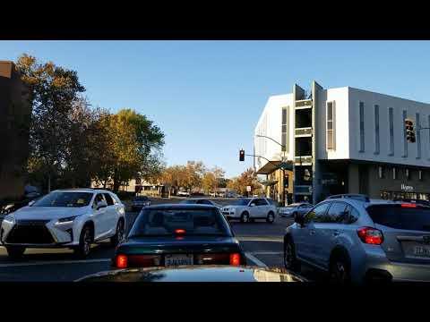 🚨🚦🚘  Downtown Walnut Creek California 🚨🚦🚘