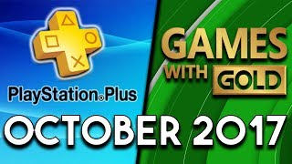 Playstation Plus Vs Xbox Games With Gold  October 2017