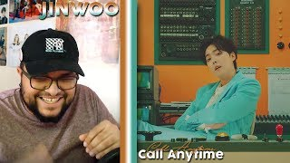 JINU (ft. MINO) - Call Anytime MV REACTION!!!   MINO WAS TEACHING HIM LOL #DOLO