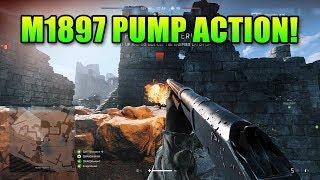 Fully Upgraded M1897 Pump Action Shotgun   Battlefield 5