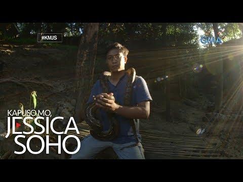 """Kapuso Mo, Jessica Soho: Ang """"Venom Man"""" ng Pilipinas"""