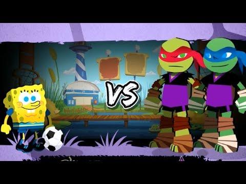 Nick Soccer Stars Game - SpongeBob Squarepants