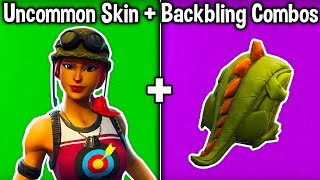 5 BEST 'UNCOMMON' SKIN + BACKBLING COMBOS in Fortnite! (Cheap Skin Combinations)