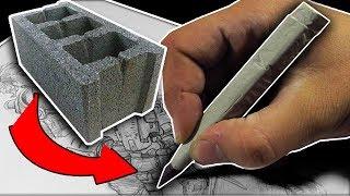 Beton ile Kalem Nasıl Yapılır? (kendin yap)
