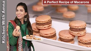 Macarons  A complete guide to making Macarons Recipe  Kitchen With Amna