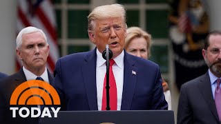 Coronavirus Disrupts Daily Life As Trump Declares National Emergency | TODAY