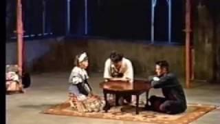 扉座第44回公演『サツキマスの物語』 川釣りと、橋からの飛び込みが名物...