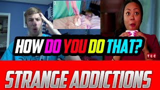 5 Strangest Addictions EVER (Diaper Eating, Sex with a Car?) REACTION