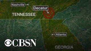 Earthquake jolts people in Tennessee, Georgia