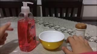 Sabun Ve Tuz Ile Slime Yapımı
