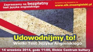 Wielki Test Języka Angielskiego w Ełku